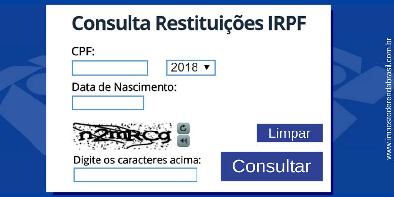 Consulta - 2º Lote IR2018